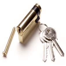 Premium 50mm Euro-Profile lock & keys