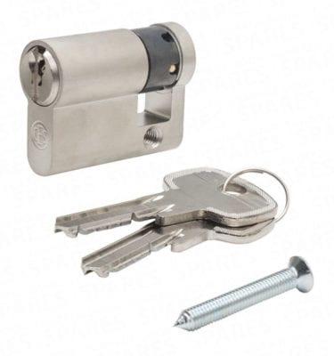 Economy 45mm Euro-Profile lock & keys